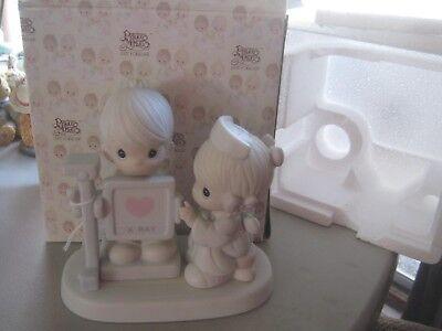 Precious Moments My heart is exposed with love 520624 1988  MIB