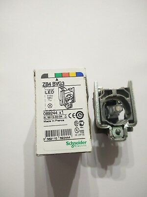 Schneider Zb4-Bvg3 Mounting Collar W/ Green 120V Led