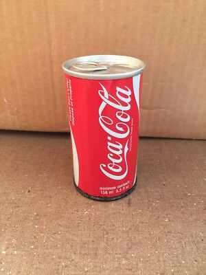 1970's Coca Cola can from the UK (5.5 fl.oz / 156ml) London Coke Vintage RARE