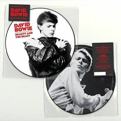 "DAVID BOWIE BEAUTY AND THE BEAST 40th ANNIVERSARY 7"" PICTURE DISC VINYL (2018)"