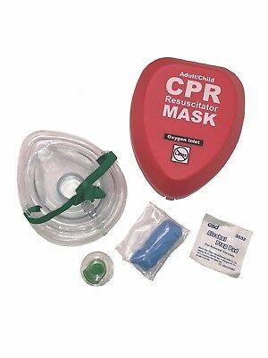WNL Adult Child CPR Rescue Mask with Belt Clip