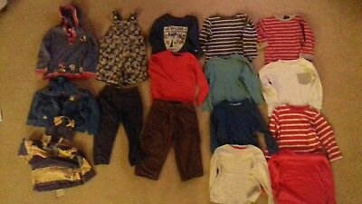 Boys Bundle 18-24 Months 16 items including Next, Mothercare, Zara and George