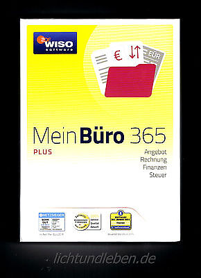 WISO Mein Büro 365 Plus NEU GARANTIENUMMER 2017 Download-Version