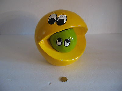 Vintage 1980's Pacman Ms Pacman  ***   Bank  ***  Ultra Rare  !!!
