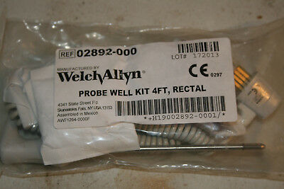 Welch Allyn 02892-000 SureTemp Plus Rectal Temperature Probe and Well Kit