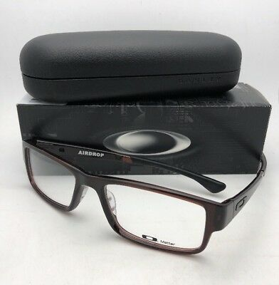New OAKLEY Eyeglasses AIRDROP OX8046-0657 XL Large 57-18 Rootbeer Brown Frames