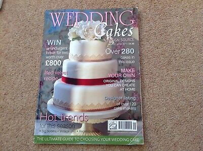 Wedding Cakes A Design Source, Issue 41, Winter 2011.