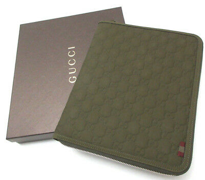 acde2c9fdb7  495 GUCCI-iPAD CASE 322211 GUCCISSIMA LEATHER SIGNATURE GG PORTFOLIO STYLE
