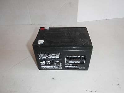 2UKH3 Battery, Sealed Lead Acid, 12V, 12Ah, Faston (T)