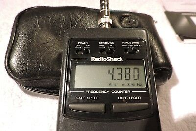 Radio Shack LCD~RF Frequency Counter~#22-305~Original Box~Untested
