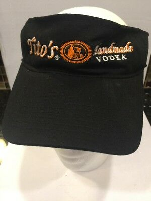 Tito's Vodka Golf Hat/visor. Austin Texas. New