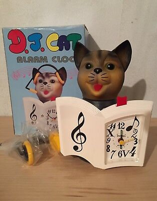 "D.J. CAT ""Alarm Clock"" PLAYS A MELODY OF 16 DIFFERENT SONGS (Push Button)"