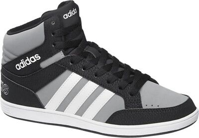 d38c0fe6b1 NEW ADIDAS NEO BOYS/GIRLS TRAINERS /high tops/HOOPS MID K/sneakers/sport  shoes