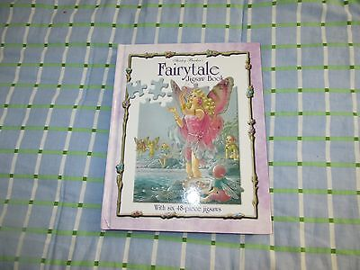Shirley Barbers Fairytale Jigsaw Puzzle Book 6 48-Piece Puzzles HC NEW