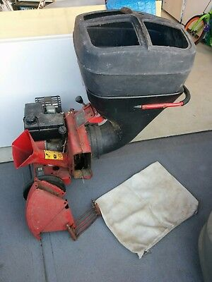 5 Hp Mtd Powerful Mulcher / Chipper Shredder  In Good Condition