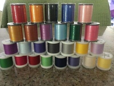 machine embroidery thread. Brother, Madera. Free delivery.