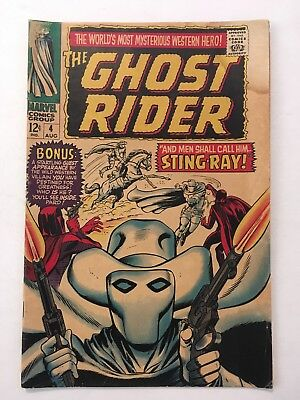 Ghost Rider #4 (Aug 1967, Marvel) CLASSIC WESTERN SERIES