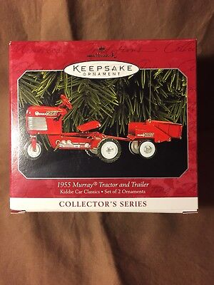Hallmark 1955 Murray Tractor And Trailer Kiddie Car Classics. MIB!