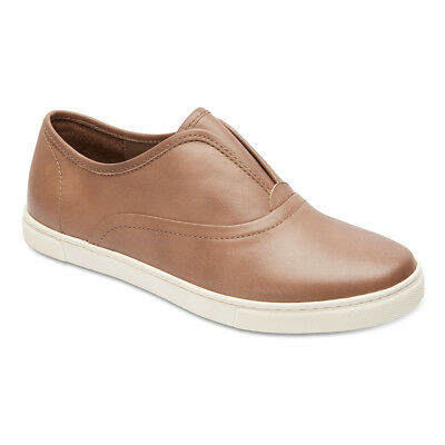 NEW Sandler Fallon Taupe Leather Casuals