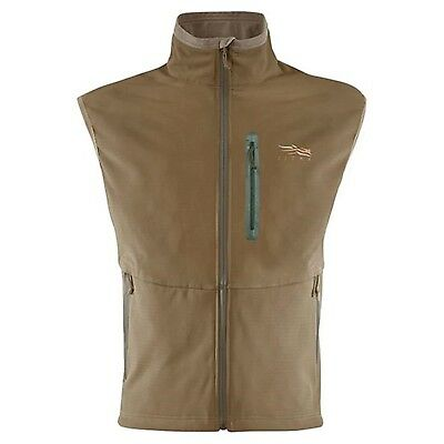 (S, brown) - Sitka Men's Jetstream Vest. Sitka Gear. Delivery is Free