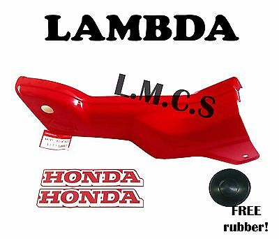 Cowling / Down Tube / Middle Fairing Plastic for Honda CT110 w/ Stickers