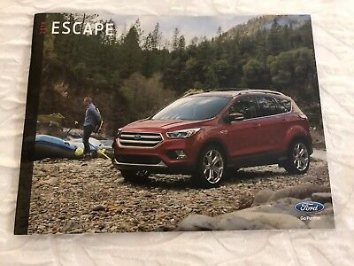 2018 FORD ESCAPE 32-page Original Sales Brochure