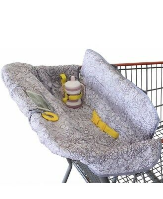 Shopping Cart Cover for Baby or Toddler 2-in-1 High Chair Cover Comp