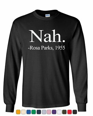 Tee Hunt Nah Rosa Parks 1955 Civil Rights Muscle Shirt Freedom Justice Equality