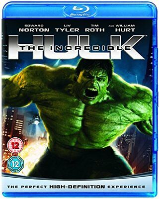 The Incredible Hulk [Blu-ray] [Region Free]