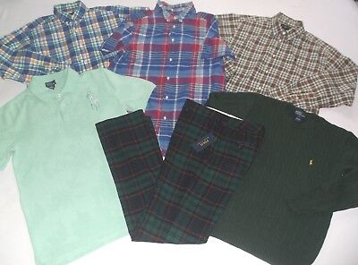 Ralph Lauren Boys Size18/20 Xl Shirts And Pants Clothing In Euc And Nwt!