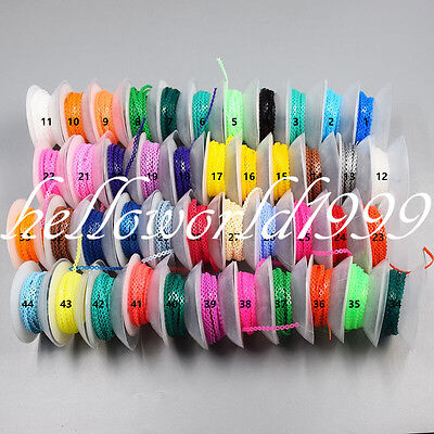 Orthodontic Elastic Ultra Power Dental Chain 44 Colors Continuous/Long/Short Opt