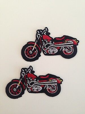 New Motorcycle iron sew on patch