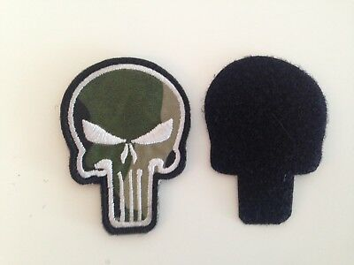 Punisher Patch Tactical Patches Skull Patches Military Armband Camo colour