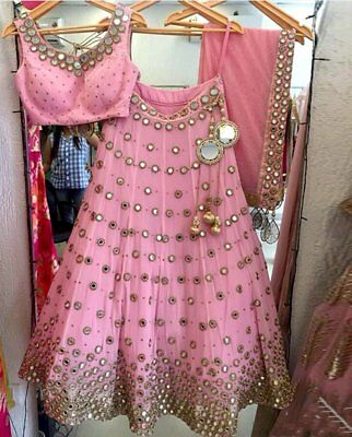 New Dress Indian Ethinic Bollywood Party Wear Designer Choli Wedding Lehenga FM