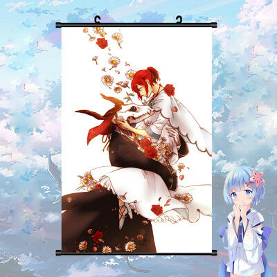 The Ancient Magus' Bride Elias Chise Beautiful Wall Scroll Poster 40cm*60cm Gift