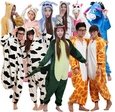 TOP Fancy Dress Cosplay  Adult Unisex Onesie17 Kigurumi Pyjamas Animal Sleepwear