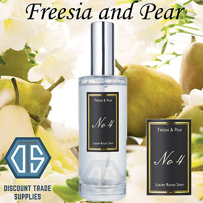 Aldi No 4 Luxury Limited Edition Room Spray Freesia and Pear 100ml Sold Out
