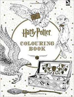 Harry Potter Colouring Book by Scholastic (Paperback 2015) - NEW