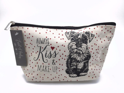 East Of India Cotton Dog Toiletry Kiss And Make Up Lovely Gift