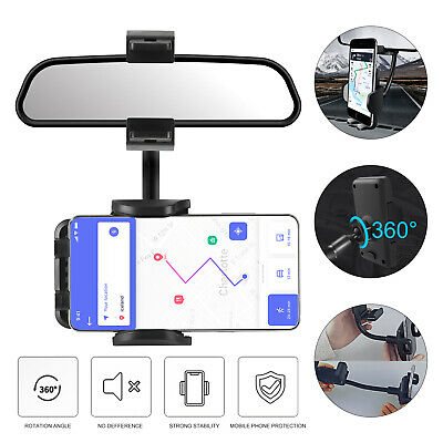 Fast Qi Wireless Car Charger Mount Holder for Samsung Galaxy S9 Plus iPhone 8/X