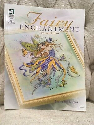 Joan Elliott - Fairy Enchantment cross stitch chart book