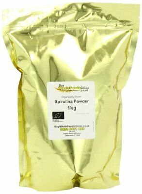 Buy Whole Foods Organic Spirulina Powder 1 kg