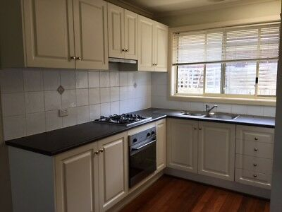 Kitchen With Oven And Gas Cooktop