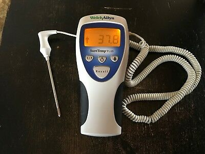 Welch Allyn Suretemp Plus 692 Thermometer With Probe