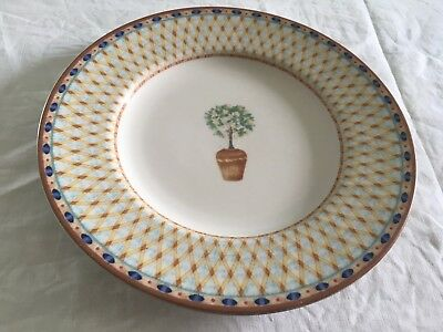 "Tesco (Johnson Brothers) lemon tree salad plate (8.25"")"