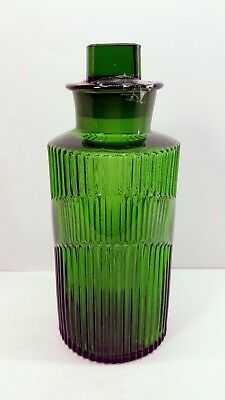 1930s Green Apothecary Bottle