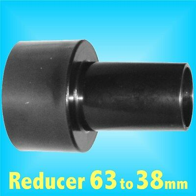 Reducer 63mm to 38mm for Dust Extraction Hose Charnwood SIP Record extractor