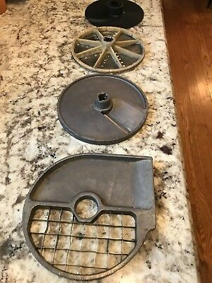 Set of Dean Dito/Electrolux/Sirman Food Prep Knife Plates
