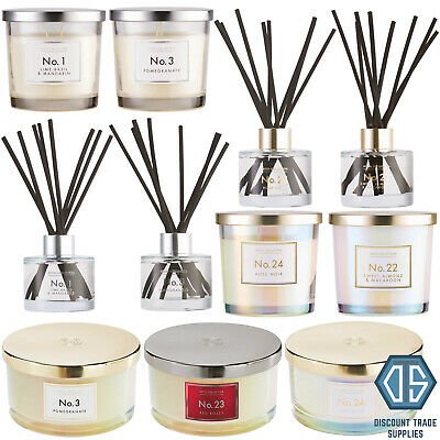 Aldi Luxury Candle, Reed Diffuser, Room Spray Gift Set Limited Edition Fragrance
