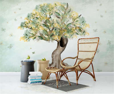 Ethnic Lucky Tree 3D Full Wall Mural Photo Wallpaper Printing Home Kids Decor
